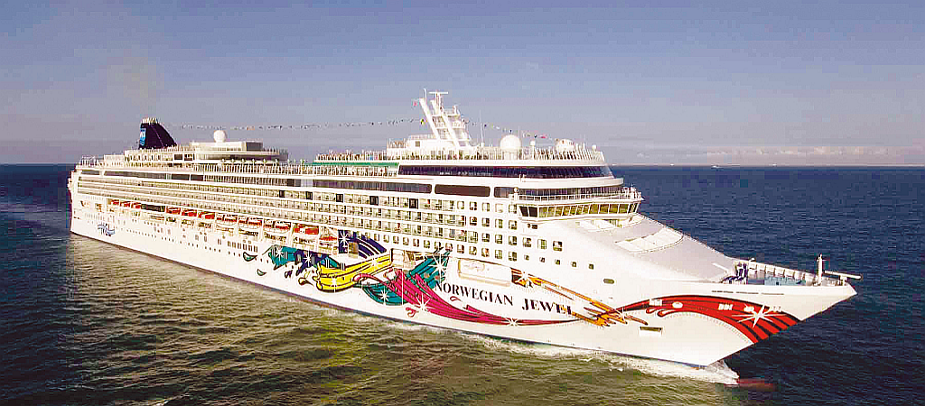 MS Norwegian Jewel - Aussenansicht