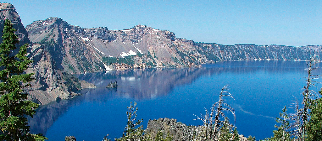 USA Oregon Crater Lake
